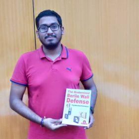 Priyadharshan with his Berlin book